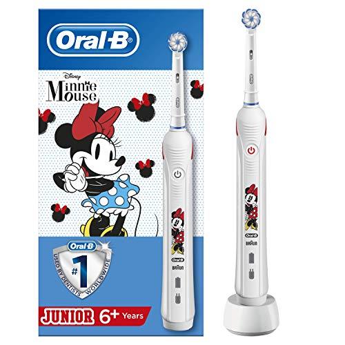 Oral-B Junior - Cepillo Eléctrico Recargable con Tecnología de Braun, 1 Mango...