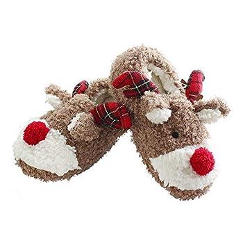 Best reindeer slippers Reviews