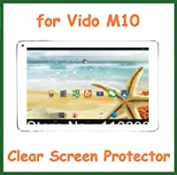 """5pcs CLEAR Screen Protector Full Screen Size 253.5x157mm for 10.1"""" Vido M10 RK3188 Quad Core No Retail Package Guard Film"""