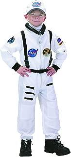 Aeromax Apollo 11 NASA Astronaut Suit Costume, 4/6, White