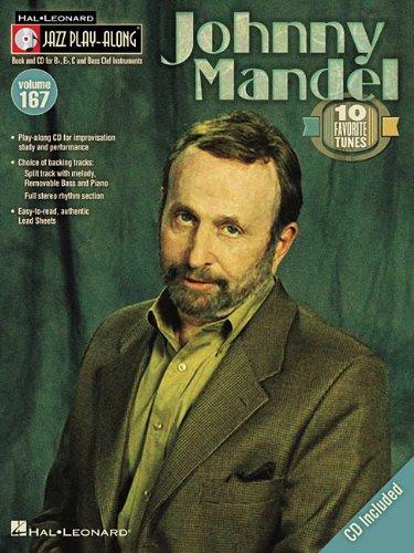 Johnny Mandel: B flat, E flat, C and Bass Clef Instruments (Jazz Play-along, Band 167)