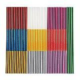 FZGUSYAF 120 Piezas Barras de Pegamento Termofusible 7x100mm Brillo Popular Color(10 Colores) para Pistola de Pegamento Caliente de 7mm