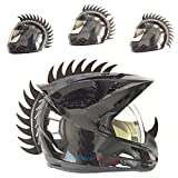 customTAYLOR33 Warhawk/Mohawk Rubber Saw Blade Helmet Accessory Piece (Helmet Not Included...