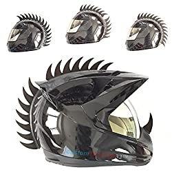 commercial customTAYLOR33 Warhawk / Mohawk Rubber Saw Helmet Accessories (Helmet not included) mohawks for helmets