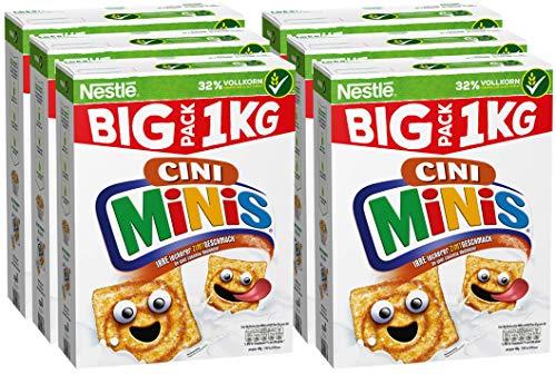 Nestlé Cerealien Cini Minis mit Zimtgeschmack und Vollkorn, 6er Pack (6 x 1 kg)