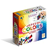 Lifestyle- Speed Colors Jeu de Societe, BLA049SP, Multicolore