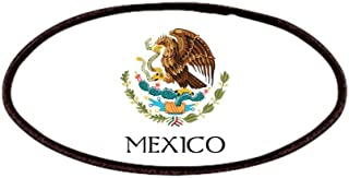 CafePress - Coat Of Arms Of Mexico - Patch, 4x2in Printed Novelty Applique Patch