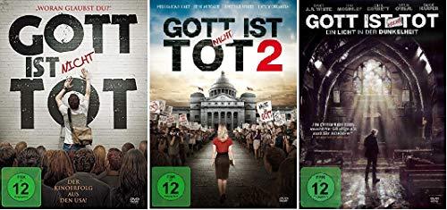 Gott ist nicht Tot 1-3 DVD SET 1,2,3 God's Not Dead Ein Licht in der Dunkelheit