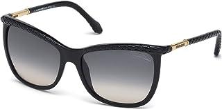 Roberto Cavalli Round Sunglasses for Women, Brown, RC874S-05B-58-16-130