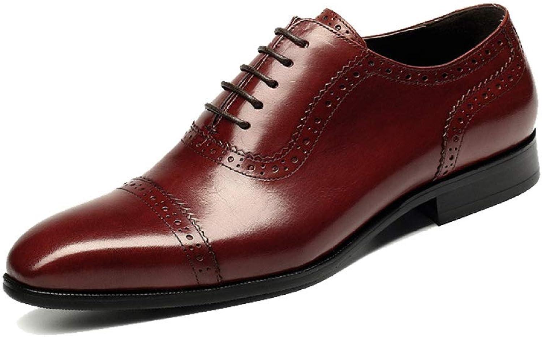 NIUMT NIUMT NIUMT Autumn and Winter British Style Business Mans läder skor Pointed Casual Lace -up skor  den nyaste