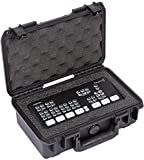 SKB Cases 3i-10063ATM iSeries Blackmagic Design ATEM Mini Case Fits Blackmagic Design ATEM Mini or ATEM Mini Pro, Ultra High-Strength Polypropylene Copolymer Resin, Patented Trigger Latches