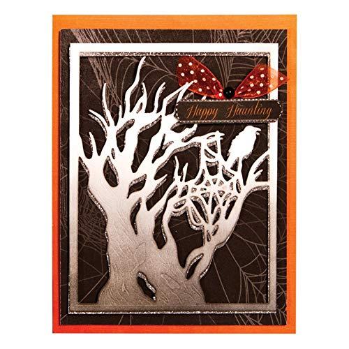 Pixie Stanssjabloon om zelf te maken met boom raf vogel metalen frame voor het snijden van muren scrapbooking papier doe-het-zelf vormen