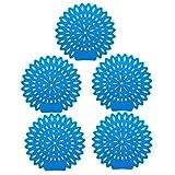 Healifty 5 pcs Urinalsieb für Pissoir Urinal Aktivkohle Lufterfrischer guter Geruch Toilette