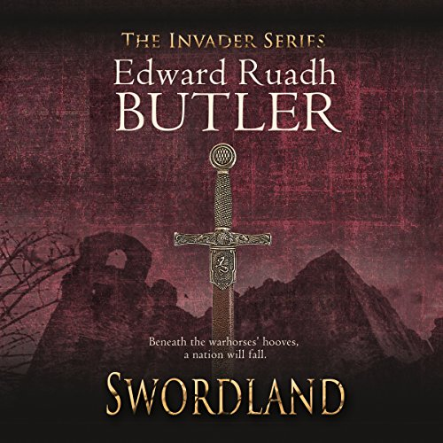 Swordland audiobook cover art