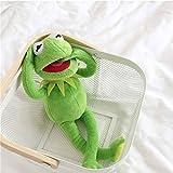 Peluche Kermit Frog Sesame Street Frogs muñeca Juguetes de Peluche cumpleaños Navidad muñeco de Peluche para Regalos de Chico 40cm