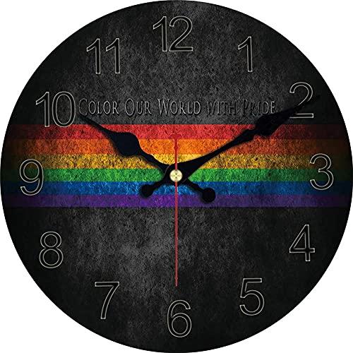 Gran decoración de la pared reloj de pared de la pared reloj de pared creativo del café diseño silencioso oficina de la oficina de la oficina de la pared relojes de decoración de la pared Arte de la c