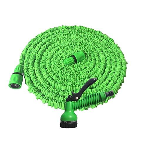 Manguera de riego Flores herramienta ampliable manguera de jardín multi funcional de alta presión de lavado de coches pistola de agua de riego del jardín para los accesorios de coche del jardín 1Pon