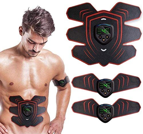 Abs Stimulator Muscle Stimulator Protable Ab Trainer Muscle Toner Electric Abs Belt Workout product image