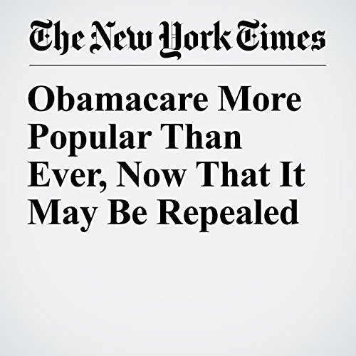 Obamacare More Popular Than Ever, Now That It May Be Repealed copertina