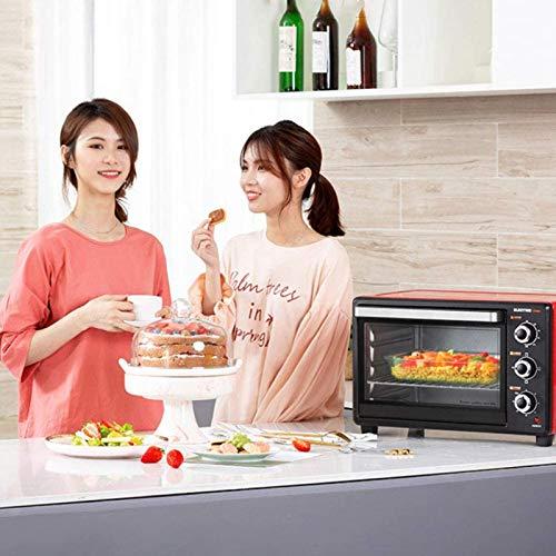 51Pk 1gEOXL. SL500  - 30-Liter-Multifunktionsherd, Mini-Ofen-Funktionen, 1500W Leistung, leicht zu reinigendes Futter, Minute Timer, kann Pizza, Toast, Bagels, Pizza, gefrorene Snacks backen
