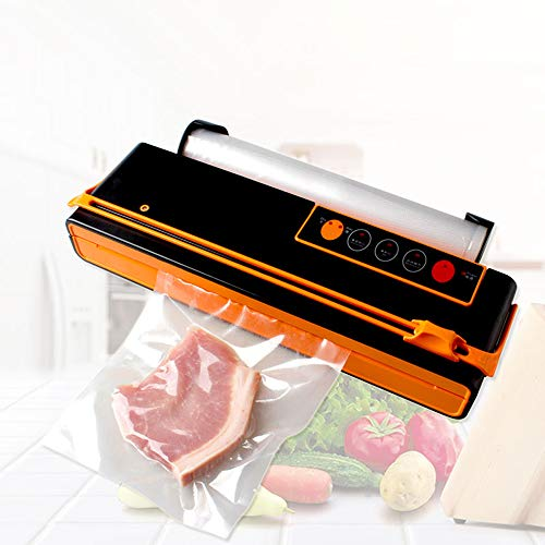 Best Bargain JJCFM Vacuum Sealer Machine, Vacuum Packing Machine Mini Automatic Food Vacuum Sealer O...