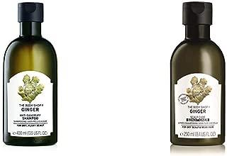 The Body Shop Ginger Scalp Care Shampoo, 13.5 Fl Oz and Ginger Scalp Care Conditioner, 8.5 Fl Oz (Vegan)