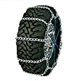 Quality Chain Road Blazer Wide Base Non-Cam 5.5-7mm Carbon Link Tire Chains (3231)