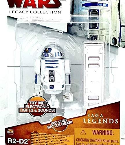 Hasbro R2-D2 Astromech Droid SL01 Star Wars Saga Legends 2009 The Legacy Collection