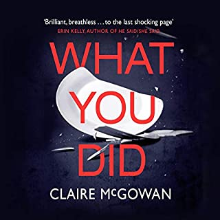 What You Did audiobook cover art