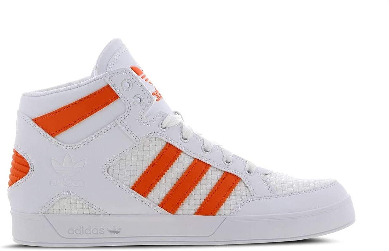 Adidas Original Hard Court Hi bianca aranciaTrainers 760 - Sautope da Ginnastica