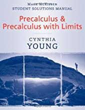 Student Solutions Manual to accompany Precalculus & Precalculus with Limits
