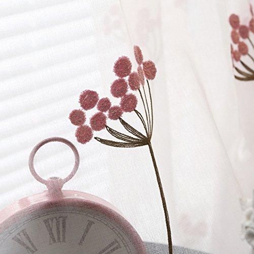 KDFGFJDHFHJGFUJG Rideau Simple Moderne Coton-Like Tissu de Lin Soleil Solid Color Chambre Living Room Tissu de Rideau de fenêtre-K 250x270cm(98x106inch)