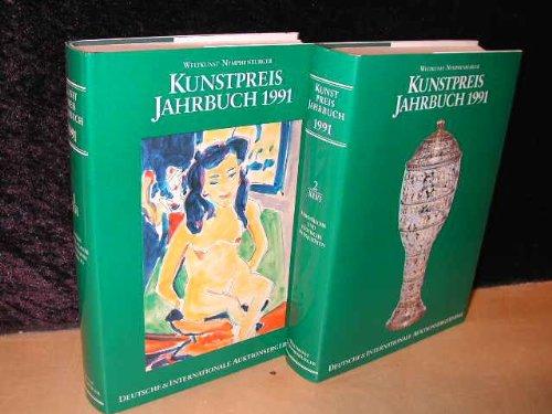 Kunstpreis Jahrbuch. Deutsche & internationale Auktionsergebnisse 1991 Teil 1 XLVI Gemälde, Graphik-Plastik, Photographie, Medaillen und Teil 2 XLVI europäische und exotische Antiquitäten