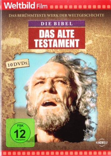 DIE BIBEL - Das alte Testament, 10 DVD, Das berühmteste Werk der Weltgeschichte
