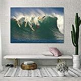DECORARTE - Cuadros Impresión Digital - Fotografía sobre Cristal Surf (150x100)