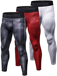 BEESCLOVER US Local Delivery 3 PCS Compression Pantalones Hombre Fitness Tight Trousers Sweat Pants for Men Sport Running Leggings