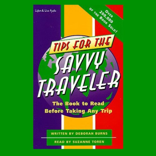 Tips for the Savvy Traveler audiobook cover art
