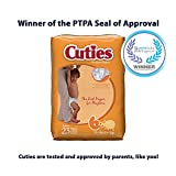 Cuties Baby Diapers, Size 6, 23 Count (Pack of 4)