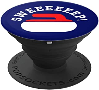 Sweep! Funny Curling | Rock, Stone, Sweep, Broom PopSockets Grip and Stand for Phones and Tablets