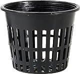 3 hydro net pot - Hydrofarm HG3NETCUP, 3-Inch, 100 Count Net Cup, Bag, Black