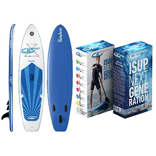 DevesSport -  Paddle Board Sunshine, color Blanco/Azul