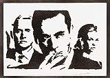 Mad Men Poster Plakat Handmade Graffiti Street Art -