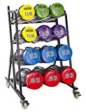 Gymstick 62055–0–Rack para Bolsas de Fitness, Color Negro