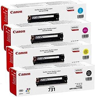 Canon 731 Laser Ink Toner 4 Color Set