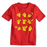 Jumping Beans Boys 4-10 Pokemon Pikachu Poses Graphic Tee 8 Red Heather