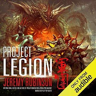 Project Legion audiobook cover art