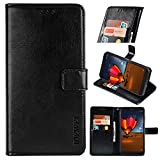 Blackview BV9100 Premium Leather Wallet Case [Card Slots]