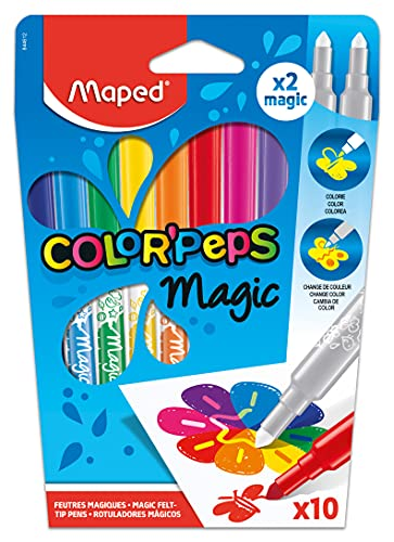 Rotuladores Magicos Cambio Color Carioca Marca Maped