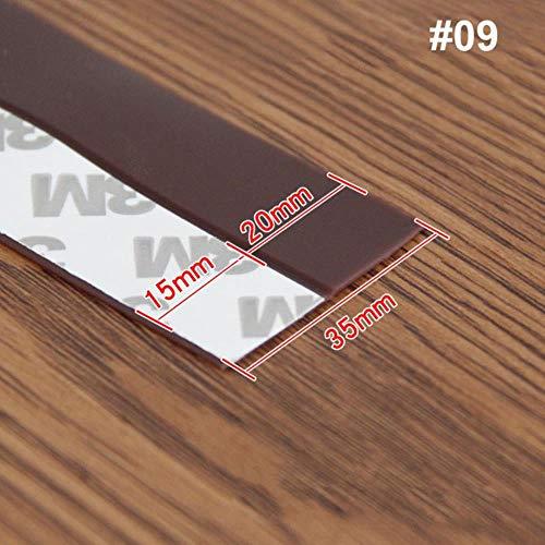 Flexible Door Bottom Sealing Strip Guard Sealer Stopper Door Weatherstrip Guard Wind Dust Blocker Sealer Stopper Door Seal Strip, 09, China