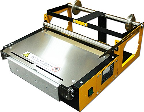 All Pro Solutions Manual Overwrapper CW-350 - 35cm / 14in. Wide Wrapping Machine for CD, DVD, Blu-Ray Cases, Video Game Cases, Cosmetics, Soap Boxes, Perfume Boxes, and many more